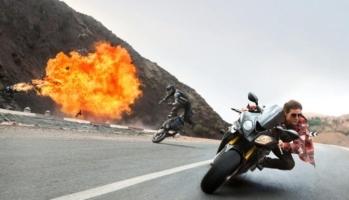 Mission Impossible Rogue Nation Spot