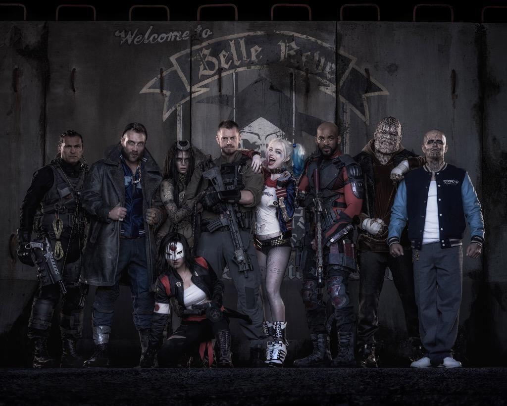 Suicide Squad Cast Foto
