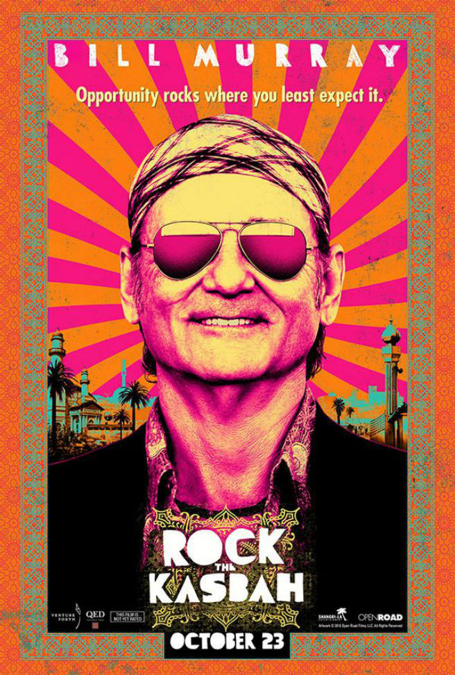 Rock The Kasbah Trailer Poster Bill Murray