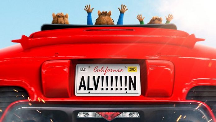 Alvin und die Chipmunks Road Chip Trailer