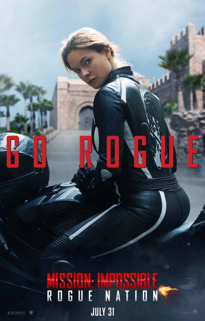 Mission Impossible Rogue Nation Vorschau Poster 4