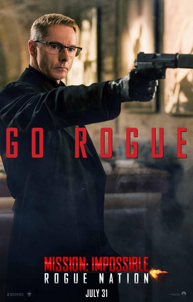 Mission Impossible Rogue Nation Vorschau Poster 2