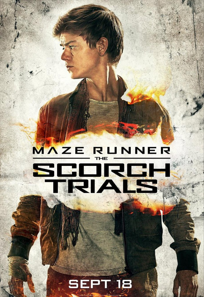 Maze Runner 2 Charakterposter 4