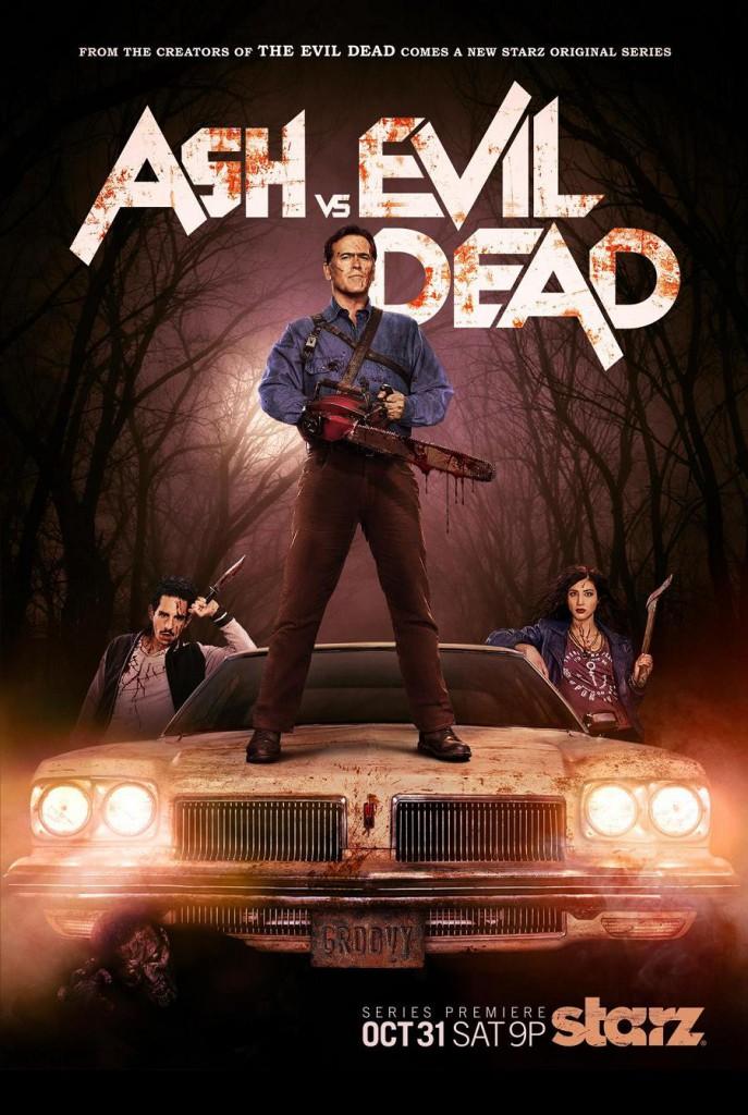 Ash vs Evil Dead Trailer & Poster
