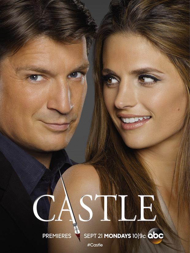 Castle Staffel 8 Poster 1