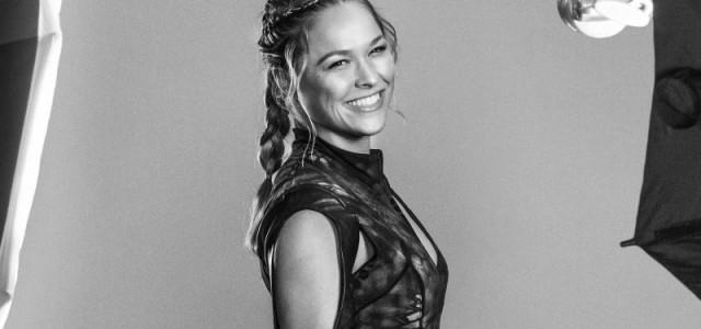 MMA-Kämpferin Ronda Rousey spielt sich selbst in einem Film über ihr Leben
