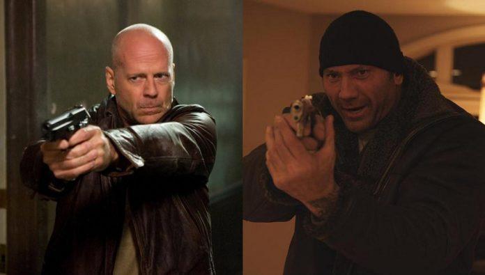 Bruce Willis Dave Bautista