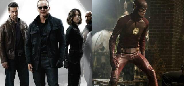 "US-Einschaltquoten: ""The Flash"" stark, Flaute bei ""Agents of S.H.I.E.L.D."""