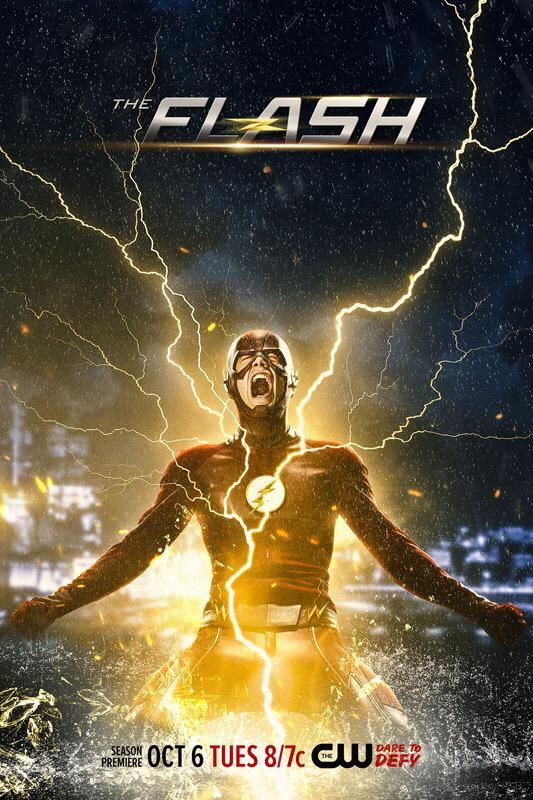 The Flash Staffel 2 Vorschau Plakat 1