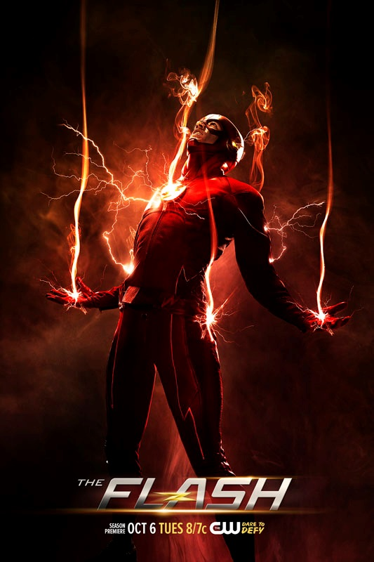 The Flash Staffel 2 Vorschau Plakat 2