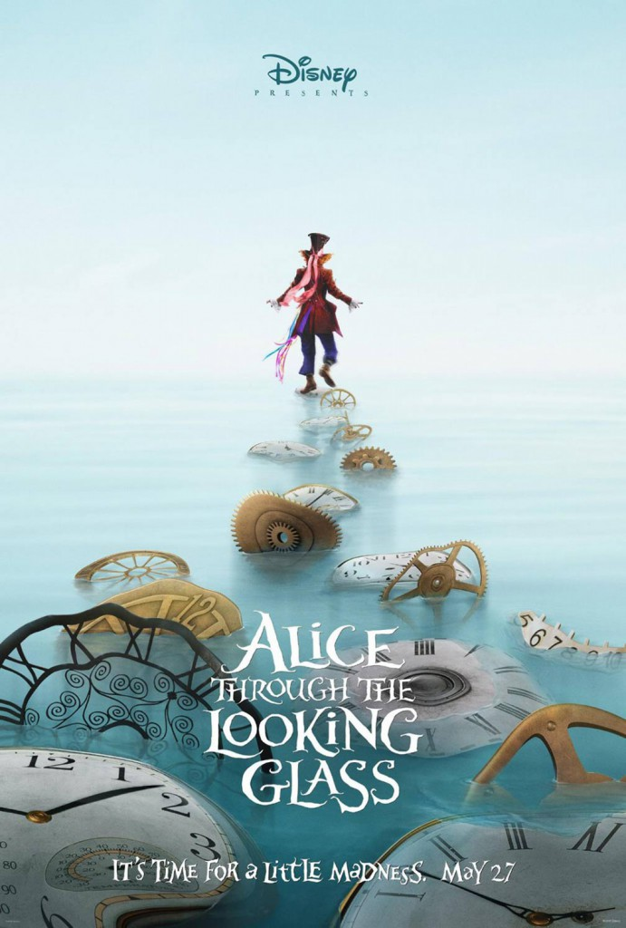 Alice Through the Looking Glass Teaser Poster 2