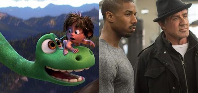 """Box-Office USA: Pixars Arlo & Spot enttäuscht, """"Creed"""" schlägt ein"""