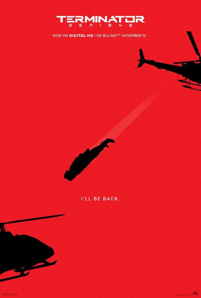 Terminator Genisys Plakate 1