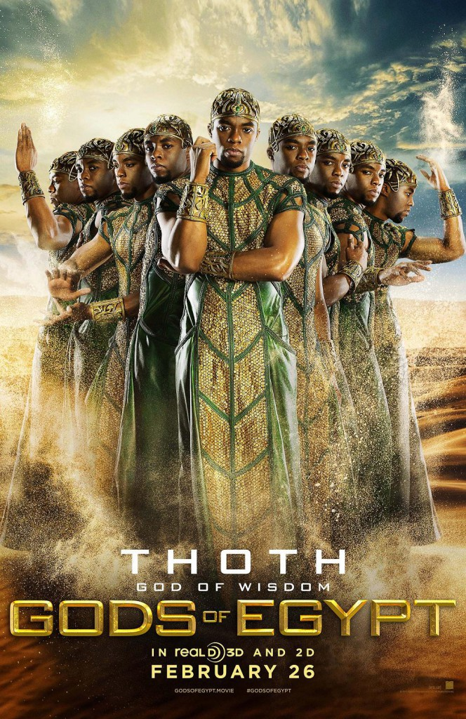 Gods of Egypt Trailer & Poster 1
