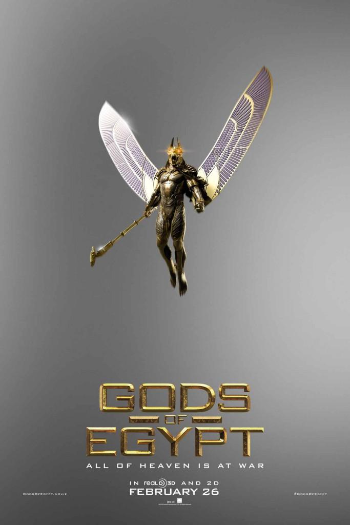 Gods of Egypt Trailer & Poster 8