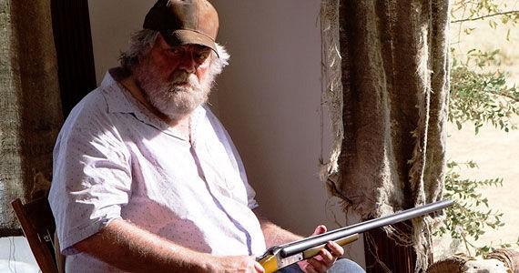 """Gunnar Hansen in """"Texas Chainsaw 3D"""""""