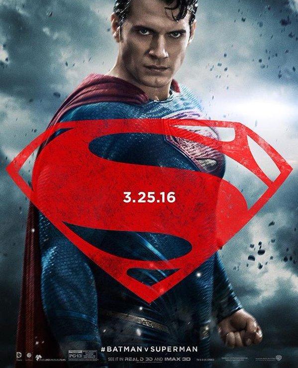 Batman v Superman Charakterposter Superman
