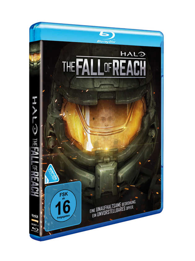 Halo The Fall of Reach (2015) BluRay Cover