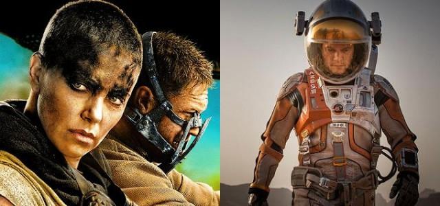 National Board of Review kürt Mad Max: Fury Road zum besten Film 2015