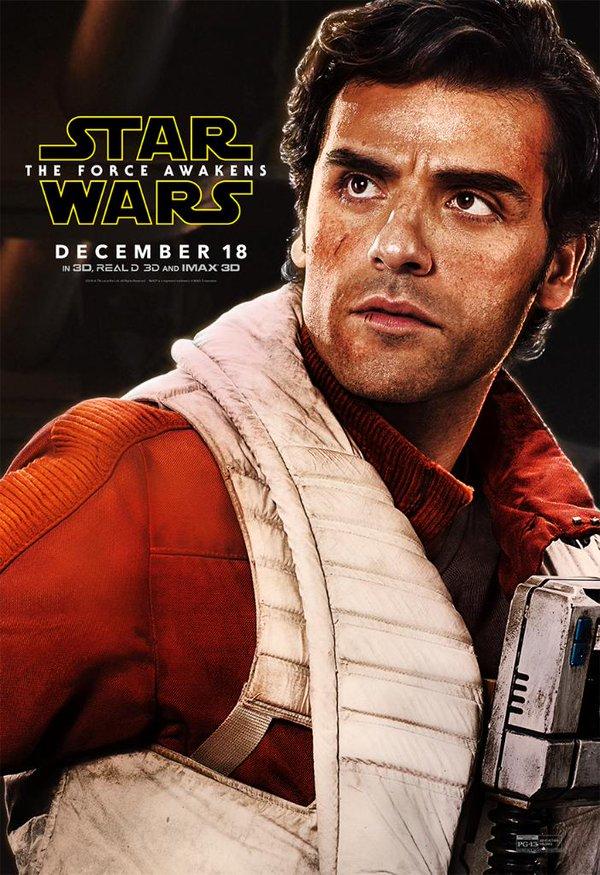 Star Wars Das Erwachen der Macht Charakterposter Poe Dameron