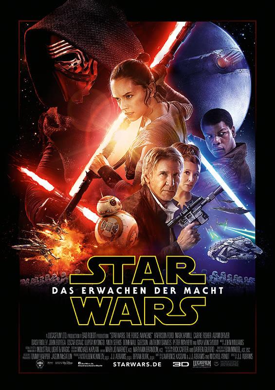 Star Wars Das Erwachen der Macht Gewinnspiel Filmplakat