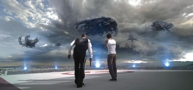 Skyline 2: Erste Fotos aus dem Sequel Beyond Skyline sind aufgetaucht