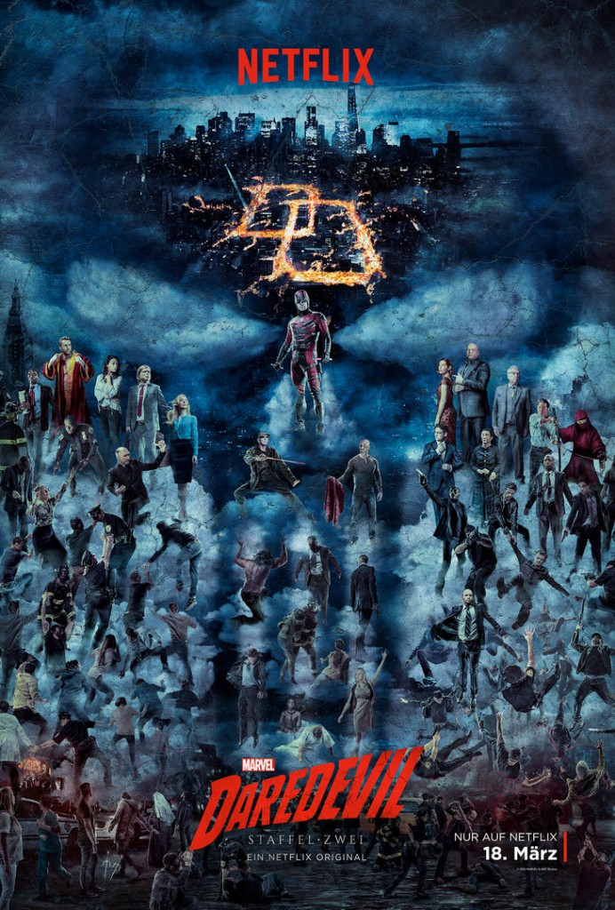 Daredevil Staffel 2 Start Poster