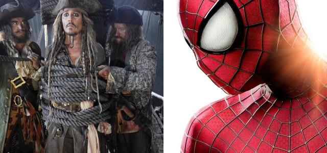 Pirates 5 und der neue Spider-Man kommen früher als geplant