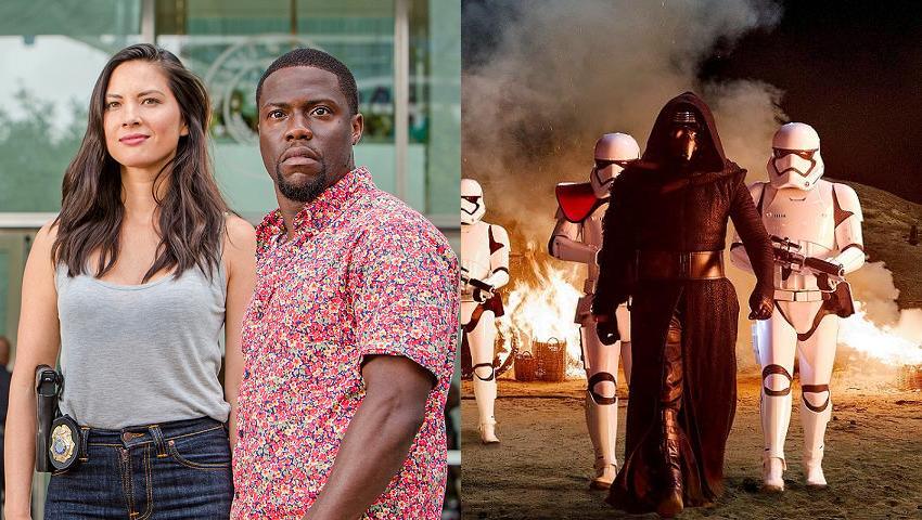 Box Office USA Ride Along 2 Star Wars
