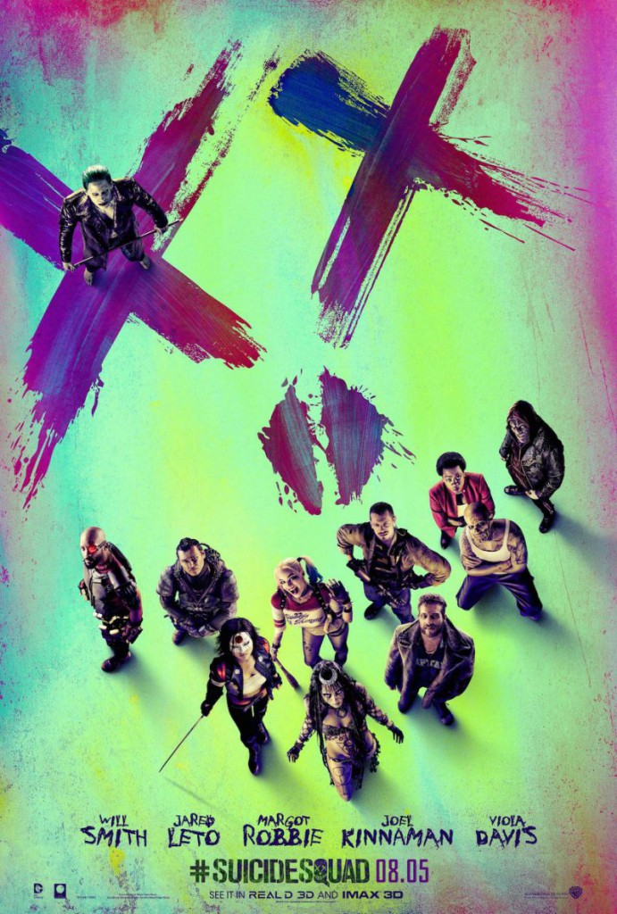Suicide Squad Trailer & Poster 1