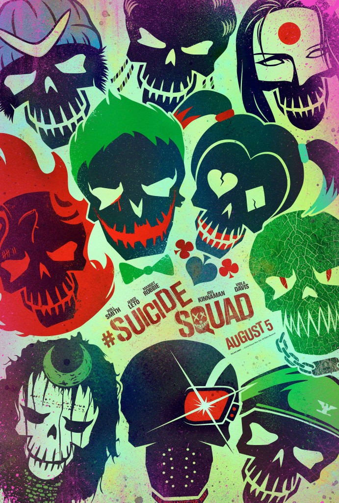 Suicide Squad Trailer & Poster 2