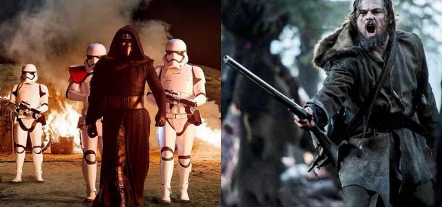 Box-Office USA: Star Wars erreicht $800 Mio und wehrt The Revenant ab