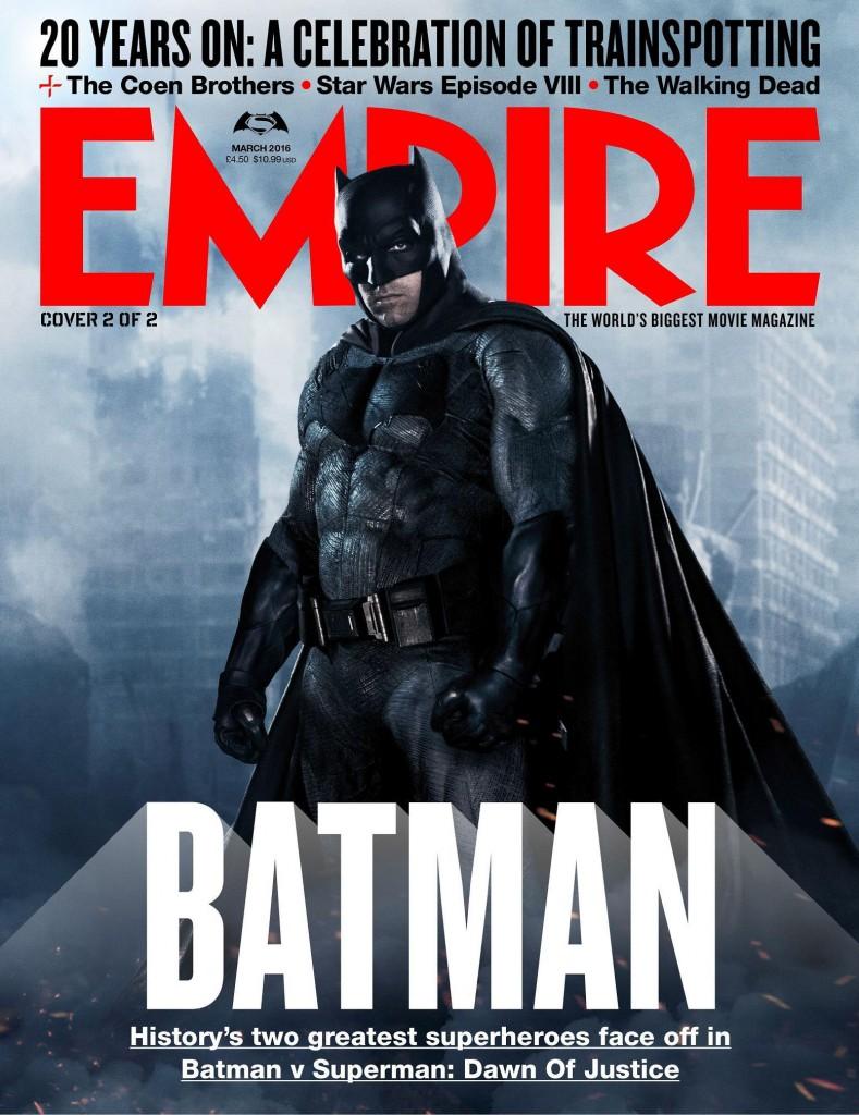 Batman v Superman Poster Empire Cover 1
