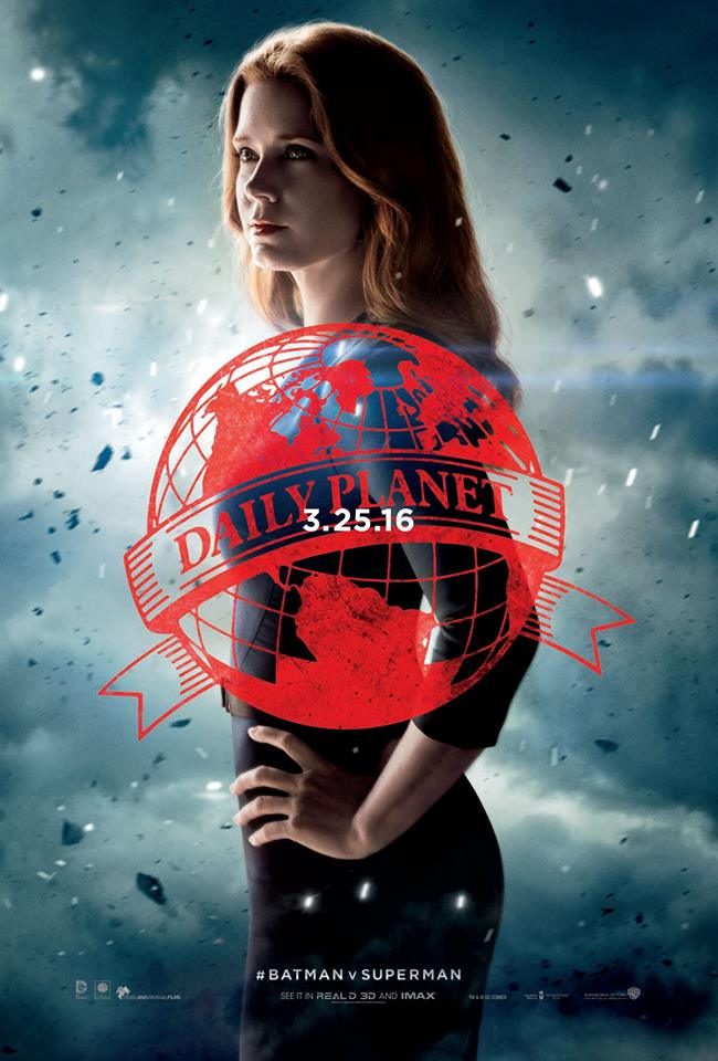 Batman v Superman Plakate Lois Lane