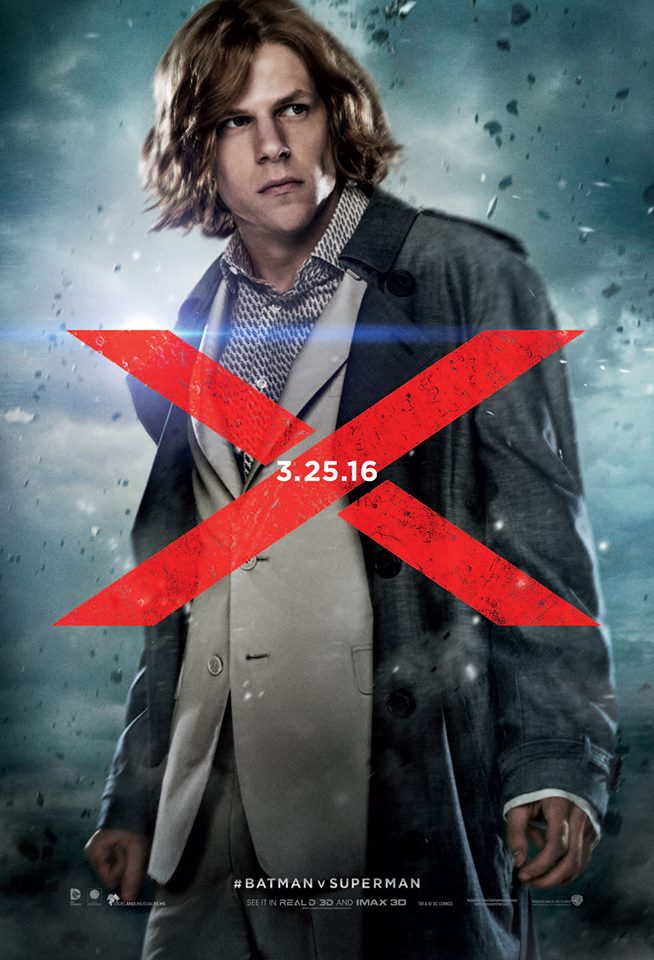 Batman v Superman Plakate Lex Luthor
