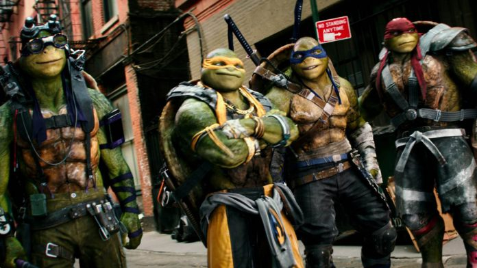 Teenage Mutant Ninja Turtles 2 Super Bowl Spot