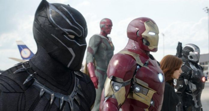 Captain America Civil War Rekord