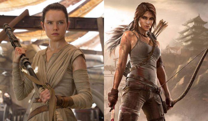 Daisy Ridley Tomb Raider