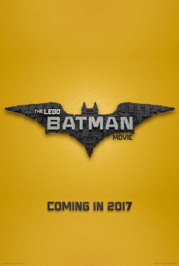 The LEGO Batman Movie Teaser Poster