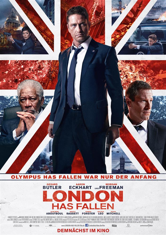 London Has Fallen Vorschau Plakat