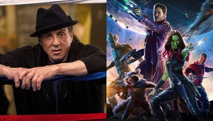 Guardians of the Galaxy 2 Sylvester Stallone