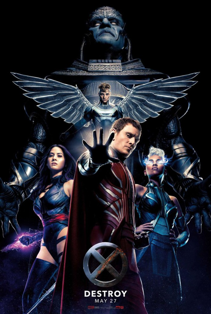 X Men Apocalypse Trailer & Poster 2