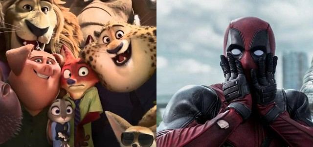 Box-Office USA: Zoomania startet gigantisch, Deadpool erreicht $300 Mio!