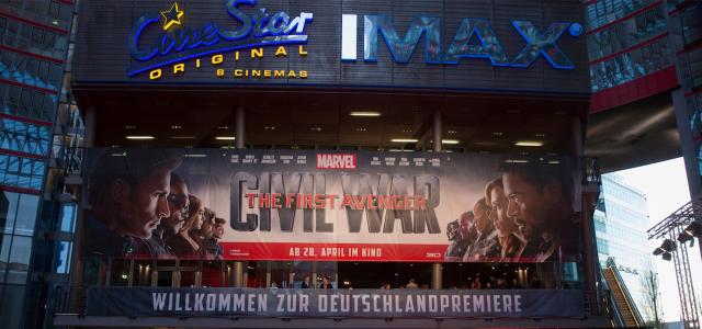 Bürgerkrieg in Berlin – Am roten Teppich von The First Avenger: Civil War