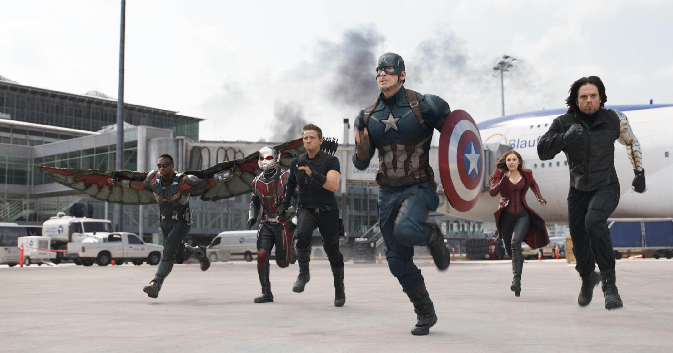 The First Avenger Civil War Clip