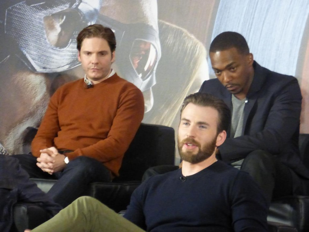 The First Avenger Civil War Pressekonferenz 3