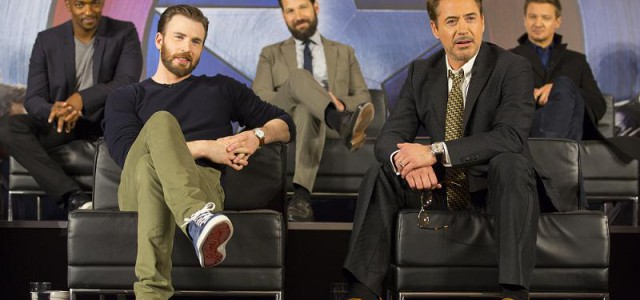 The First Avenger: Civil War – Filmfutter bei der Londoner Pressekonferenz