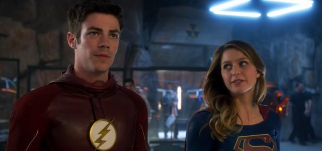 """US-Einschaltquoten: """"The Flash""""/""""Supergirl""""-Crossover ein Erfolg!"""