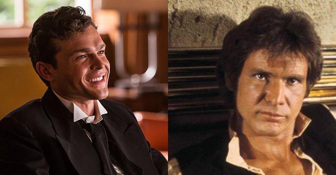 Alden Ehrenreich Han Solo