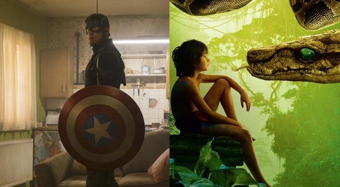 Box Office Captain America Civil War The Jungle Book